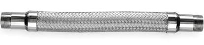 """Picture of FLEX LINE, GAS W/FITTINGS 1/2"""" X 48"""" - Part# 20-3132-48"""