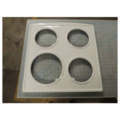 """Picture of DER 20"""" COOK TOP 4 COIL WH - Part# 292380RSC"""