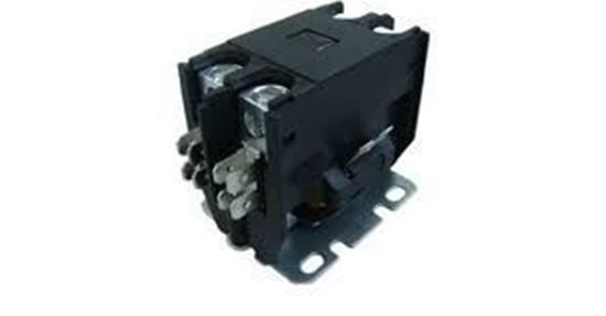 Picture of 1 POLE 25 AMP 24V CONTACTOR - Part# TMX125A