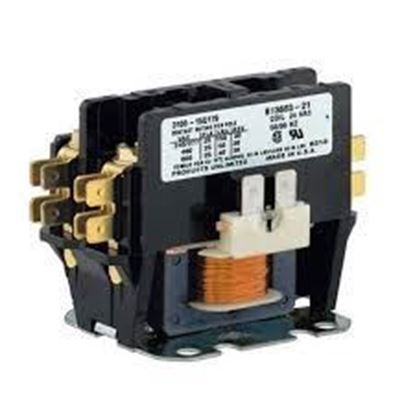 Picture of 1 POLE 30A 24V CONTACTOR - Part# ELE1P30A24V