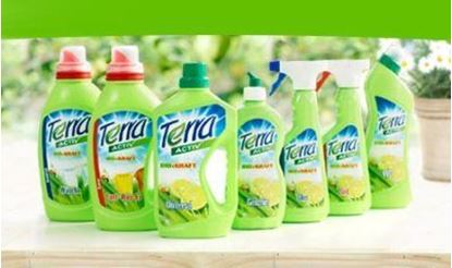 Picture of T/1 TOILET CLEANER - Part# TERRA-ACTIV-TOILET