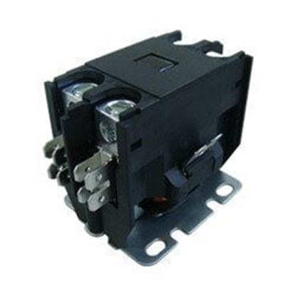Picture of 1 POLE 30 AMP 240V CONTACTOR - Part# TMX130C