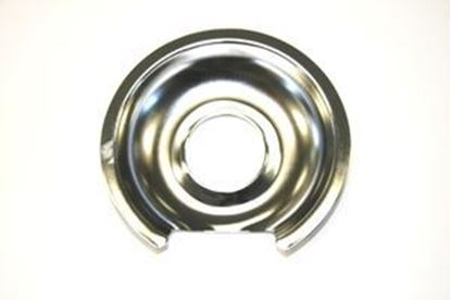 "Picture of GE General Electric Hotpoint Sears Kenmore Range Stove Cook Top 8"" DRIP PAN CHROME - Part# WB32X10013"