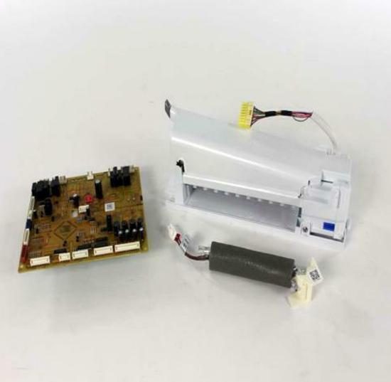 Samsung Refrigerator Iceroom Update Kit Icemaker Board Drain Y Clip Da82-02675a